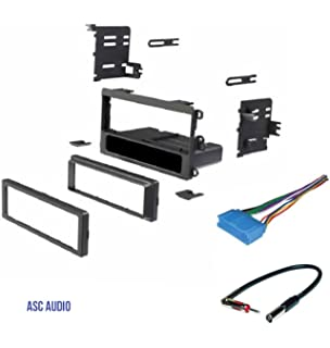 asc car stereo dash kit, wire harness, antenna adapter for some buick 97-