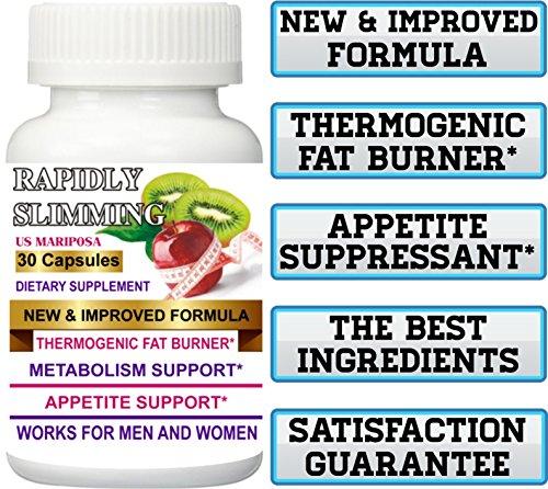 New Improved Formula + THERMOGENIC Fat Burner 1 Bottle Original Rapidly Slimming 30 Capsules. Maximum ()