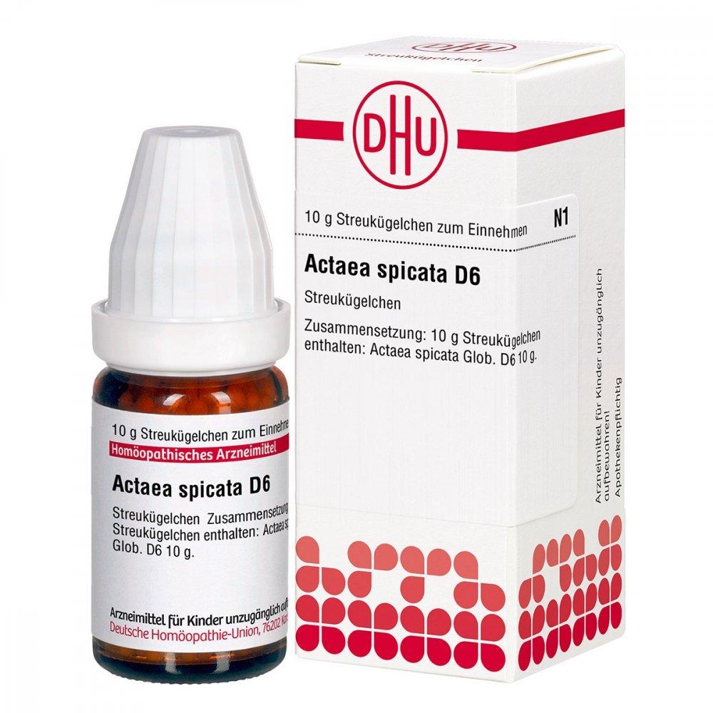 Actaea Spicata D 6 Globuli 10 g DHU-Arzneimittel GmbH & Co. KG