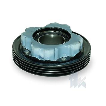 climática Compresor Polea (apto para AUDI A6 1,9/2,5TDi denso 6seu12 C 4PK (PV4) 110,00 mm: Amazon.es: Coche y moto