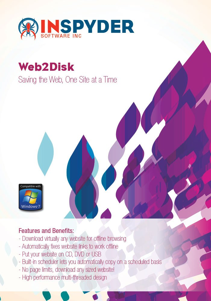 Inspyder Web2Disk [Download] by Inspyder Software Inc.