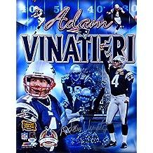 Adam Vinatieri Signed Autographed 16X20 Photo Patriots Collage 43/500 PSA D37456