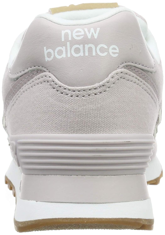 New Balance 574v2, formatori donna, rosa light cashmere, 39 eu