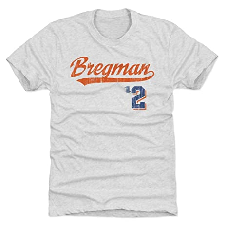 free shipping a14c4 d5b1c Amazon.com : 500 LEVEL Alex Bregman Shirt - Houston Baseball ...