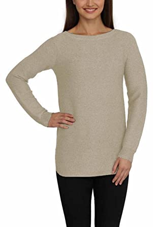 b360718e9 Cyrus Ladies  Ribbed Texture Pullover Tunic Sweater (Medium