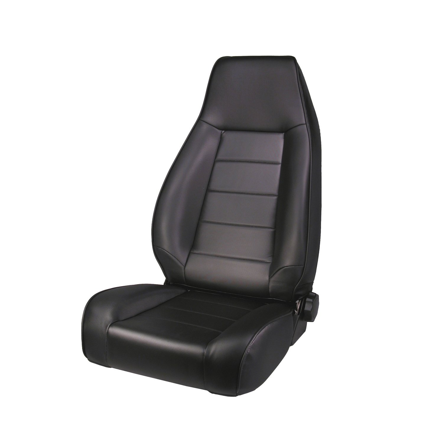 Rugged Ridge 13402.15 Factory Style Black Front Replacement Denim Seat with Recliner