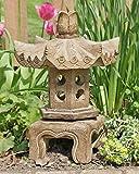 China Furniture Online Garden Pagoda, Small Stone Chinese Pagoda Lantern
