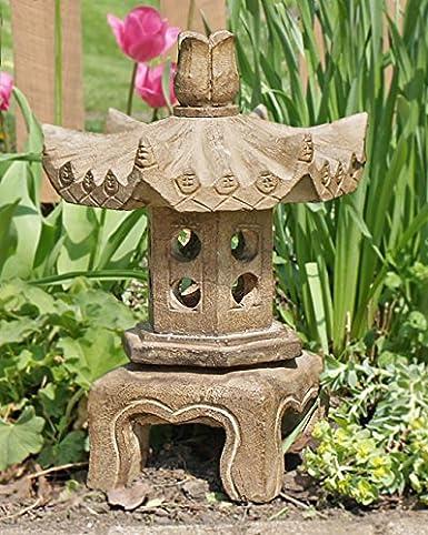 Asian garden lanterns