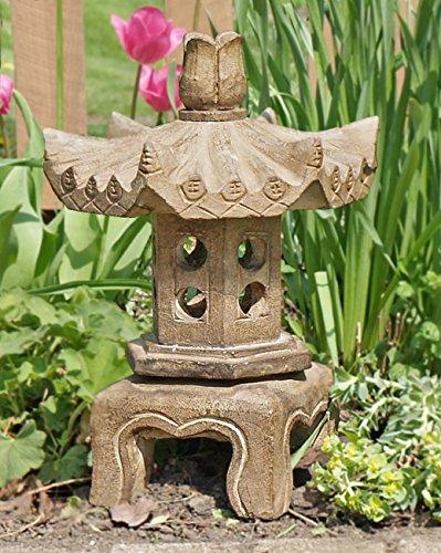 China Furniture Online Garden Pagoda, Small Stone Chinese Pagoda Lantern by ChinaFurnitureOnline