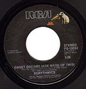 Eurythmics Sweet Dreams Are Made Of This I Could