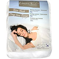 Comfort Shield Anti Allergen Bed Bug Proof Soft Terry Waterproof Mattress Protector, White, Queen