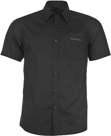 Pierre Cardin - Camisa de manga corta: Amazon.es: Ropa y accesorios