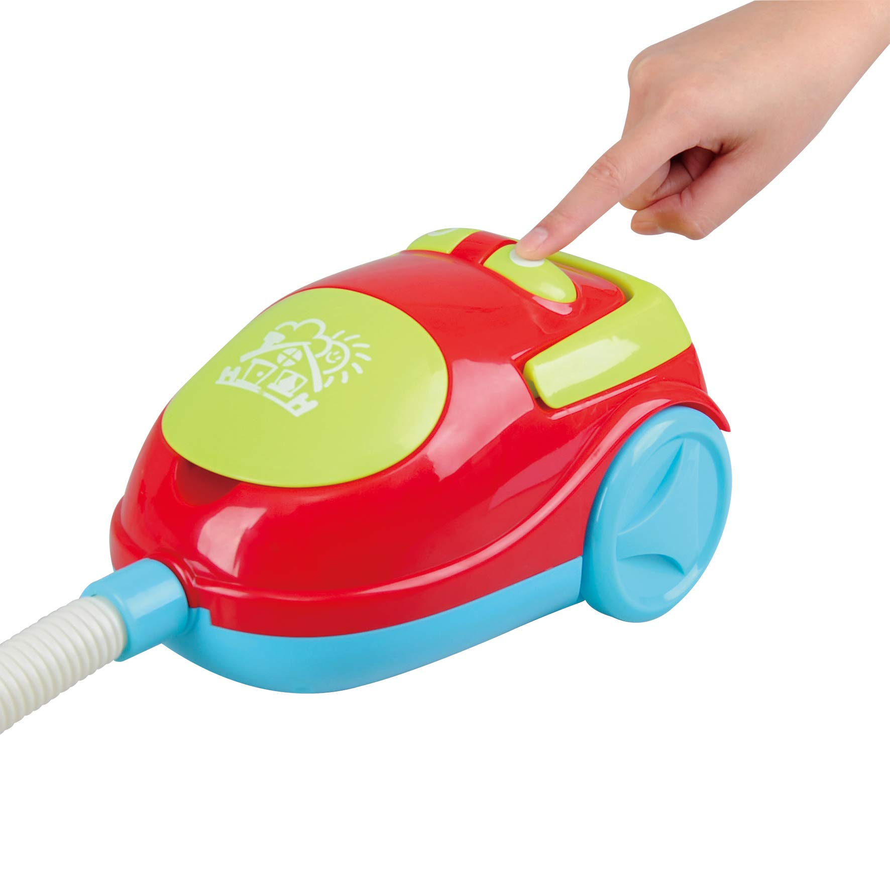 PlayGo My Cleaning Trolley with Vacuum Cleaner Toy 7 Pc Home Products for Kids Pretend Play Set for Kids Age 3 Years & Up by PlayGo (Image #4)
