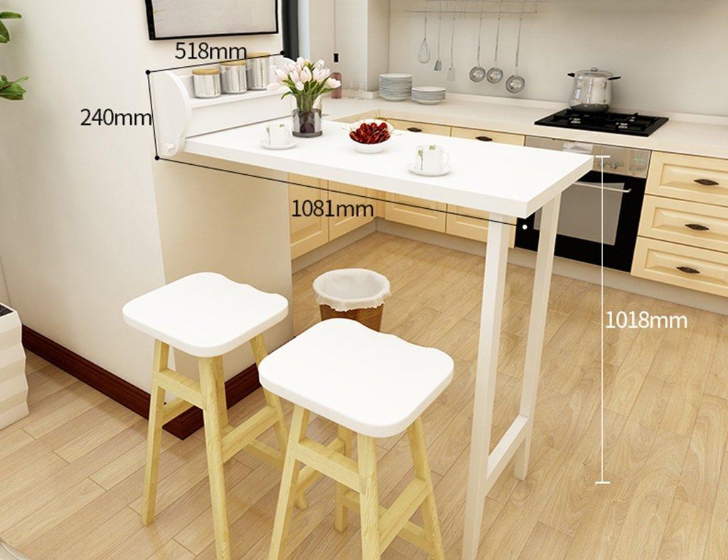 Tavoli da bar pieghevole per la casa pranzo a scomparsa da parete