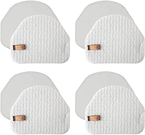 LLHome 4 Pack Foam & Felt Filter Kit Compatible with Shark Navigator NV100, NV100 26, NV105, NV105 26, NV106, UV300, UV300 26, NV480 26, NV482 26 Upright Vacuum Cleaner, Part # XFF450