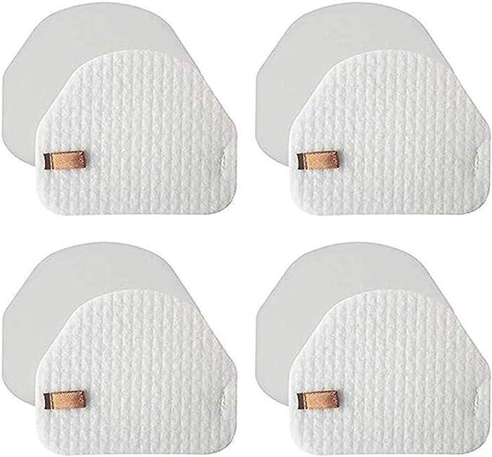 LLHome 4 Pack Foam & Felt Filter Kit Compatible with Shark Navigator NV100, NV100 26, NV105, NV105 26, NV106, UV300, UV300 26, NV480 26, NV482 26 Upright Vacuum Cleaner, Part # XFF450