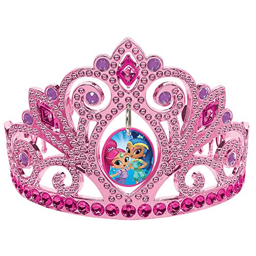 Amscan Electroplated Tiara, Shimmer & Shine Collection, Party Accessory, Multicolor