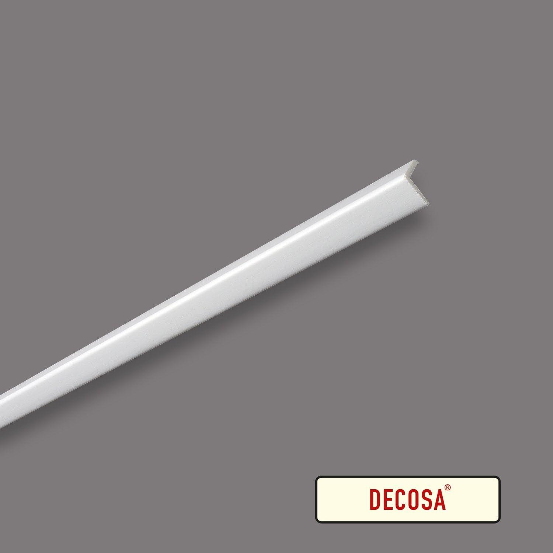 PRIX SPECIAL LOT de 5 pi/èces Decosa Profil dangle WP20 20 x 20 mm longueur 2 m