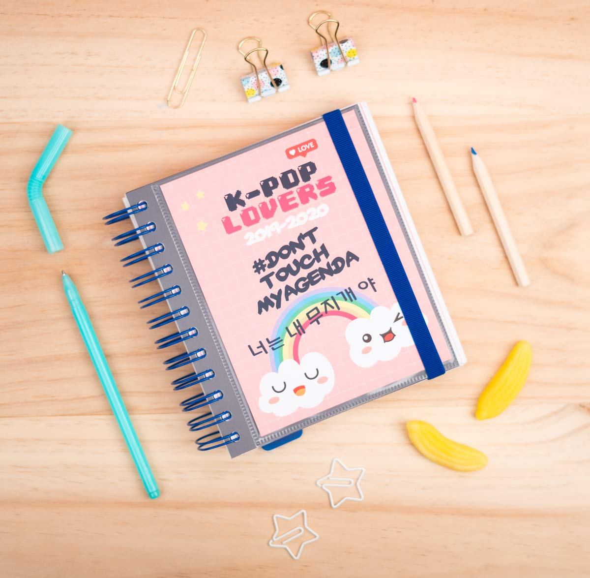 K Pop Daily Planner, Dated Middle School or High School Student Planner for Academic Year 2019-2020, 10 Months (September 2019 Through June 2020), ...