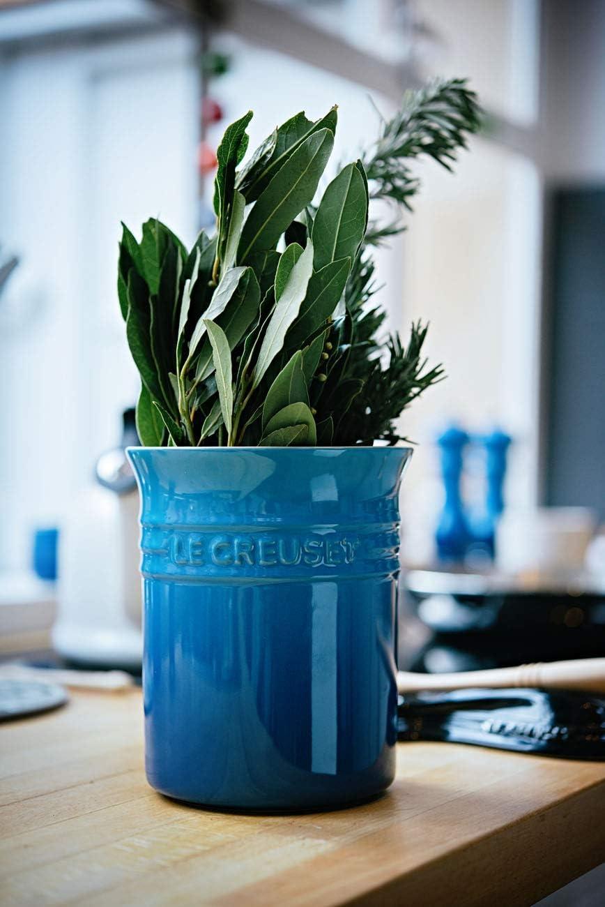 Le Creuset Stoneware Small Utensil Jar 1.1 L Marseille Blue