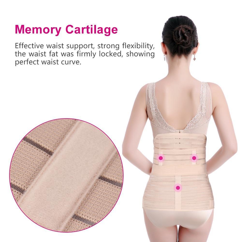 FTVOGUE Postnatal Postnatal de 3 en 1 Postpartum Support Belly Waist//Pelvis Belt Belt Recovery Body Shaper