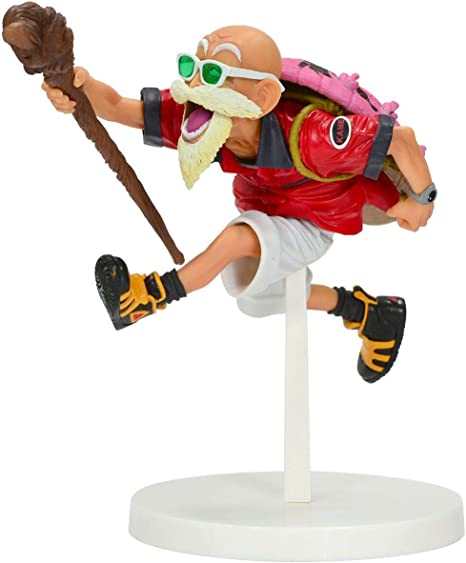 Dragonball 4 inch Static Figure Scultures Master Series - Master Roshi Tropical Version