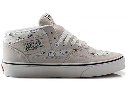 6f0a6c1efc Vans Half Cab Mens Size 12 Peanuts Snoopy Family Marshmallow White  Skateboarding Shoes  Amazon.co.uk  Shoes   Bags
