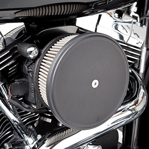 Arlen Ness 50-339 Black Big Sucker Stage I Air Filter Kit with Cover (Sucker Air Big)