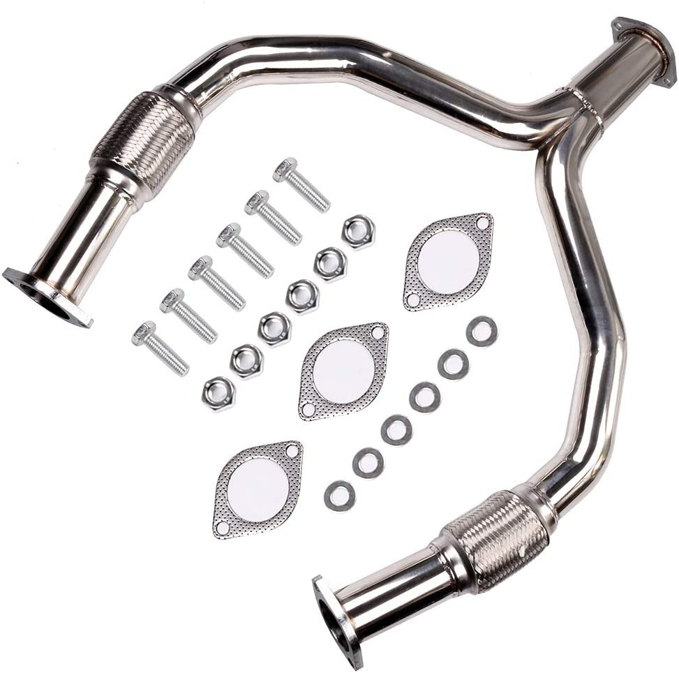 FINDAUTO Exhaust Manifold Fit for 2008-2013 Infiniti G37 2009-2016 370Z