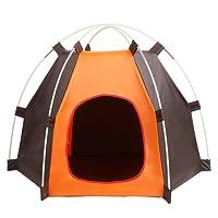 ANPI Cuccia Pieghevole Portatile per Cane, Tenda Impermeabile per Piccoli Animali, Cani Gatti Ideale per Viaggio Campeggio all'aperto