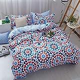 Home Textile Duvet Cover Pillow Case Sheet Bedding King Queen Twin E 220x240cm
