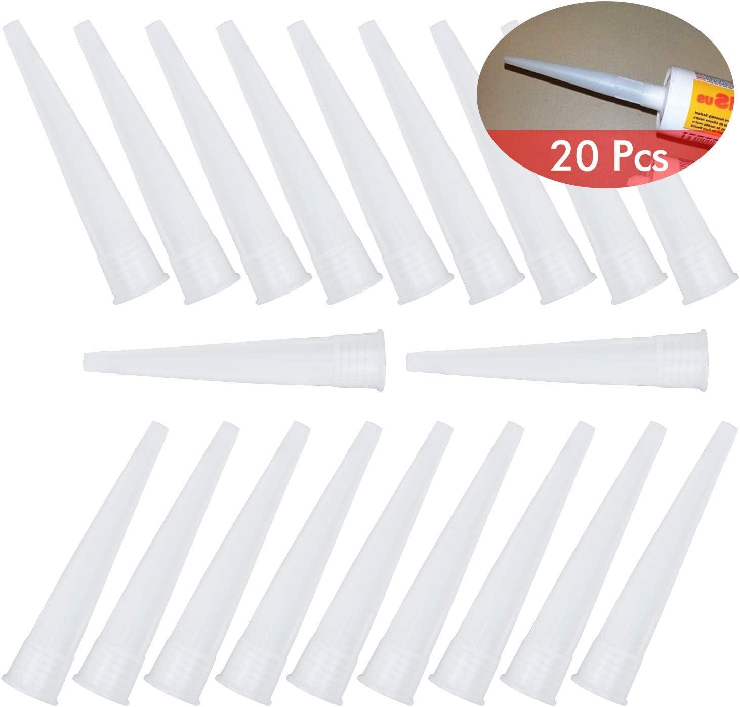 Beccucci in silicone punte di ricambio in silicone 20 pezzi WEKON