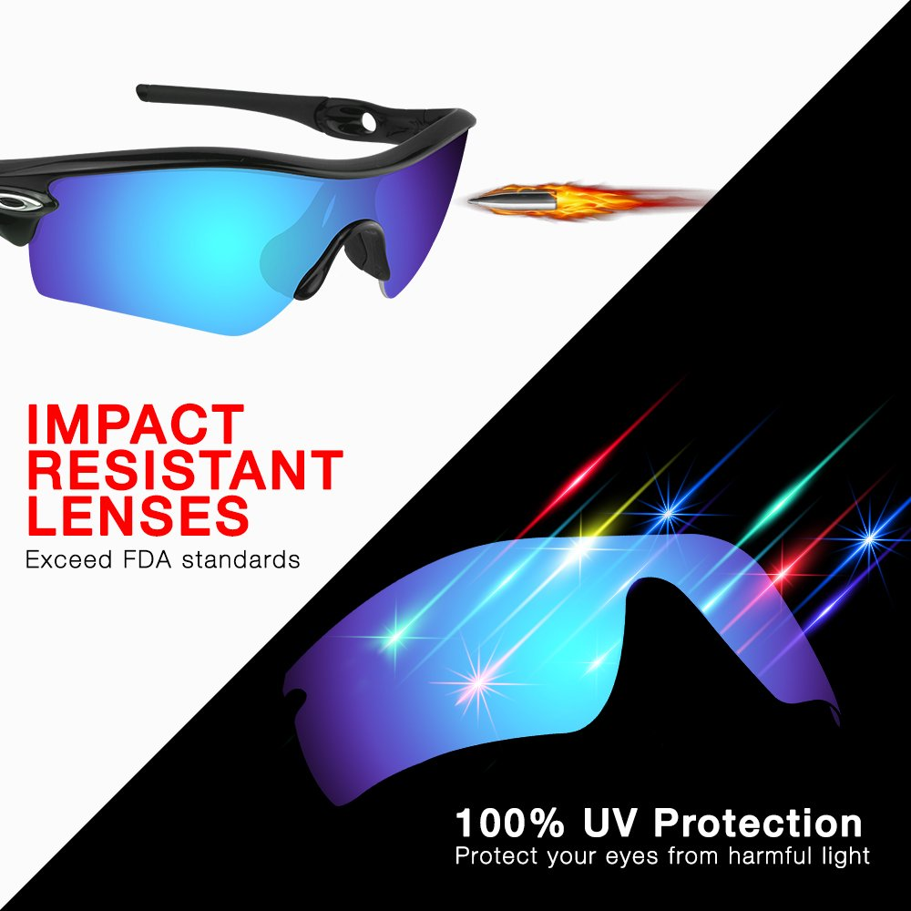 3edf7ed9500 Amazon.com  Dynamix Polarized Replacement Lenses for Oakley Half Jacket 2.0  XL - Multiple Options  Shoes