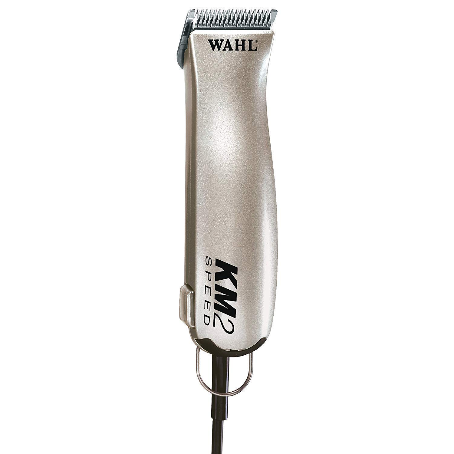 Wahl Professional Animal KM2 Deluxe 2-Speed Pet, Dog, and Horse Clipper Kit (#9757-1001) by Wahl Professional Animal