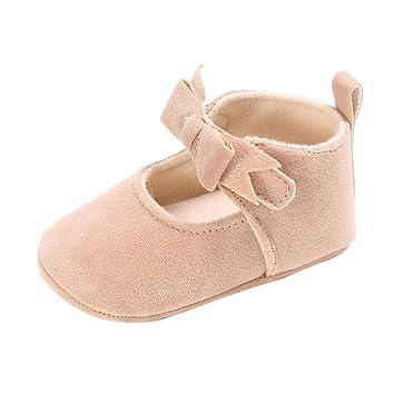 Clode® Bébés filles Princesse anti-dérapant du nouveau-né Chaussures bébé  Souliers (