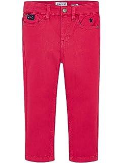 Elastane Twill Trousers for Boys Mayoral 3518 BlackBerry