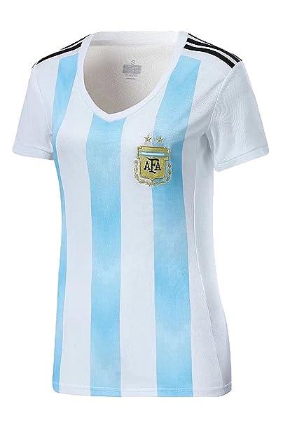 playera de fútbol de la selección nacional de Argentina 2018 ... aad239e9285d7