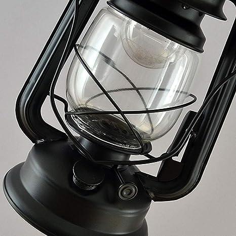 Lámparas de pie Lámpara de pie Retro Creativo del keroseno luz de ...