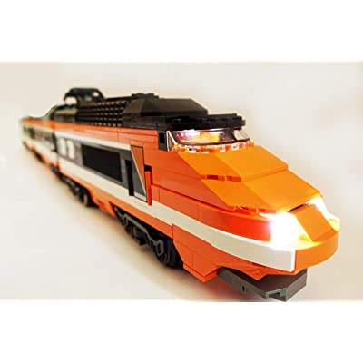 Brick Loot LED Lighting Kit for Lego Horizon Express Train Set 10233 - Custom Designed - Handmade - Durability Tested: Toys & Games