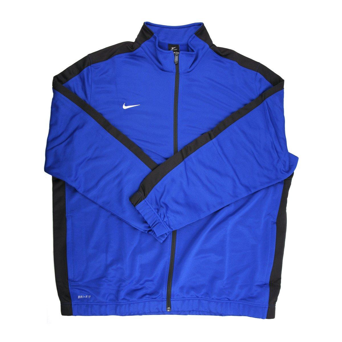 NIKE Adult Team League Men's Blue/Black Jacket - 3X Large by NIKE