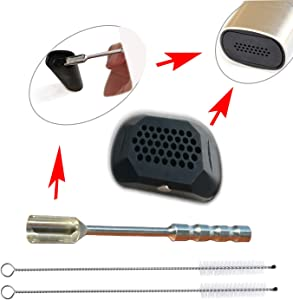 Replacement Accessories Vented Oven Lid + Loading Spoon & Cleaning Brush Kits for PAX3&2 (Pax2&3 Vented Oven Lid + Loading Spoon + Cleaner Brush)