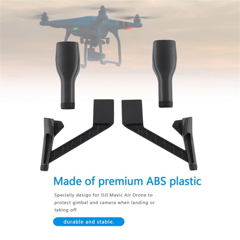 FairytaleMM Drone Landing Bracket Extension Gear Trípode de Altura ...