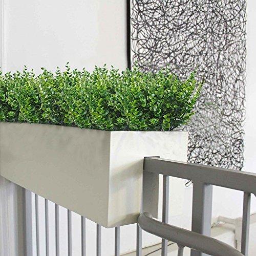 Artificial-Shrubs-Hogado-4pcs-Faux-Plastic-Eucalyptus-Leaves-Bushes-Fake-Simulation-Greenery-Plants-Indoor-Outside-Home-Garden-Office-Verandah-Wedding-Decor
