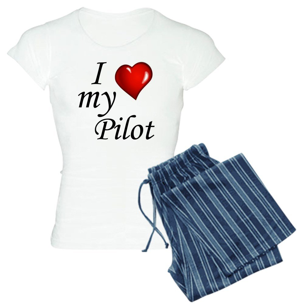 CafePress I Love My Pilot Womens PJs