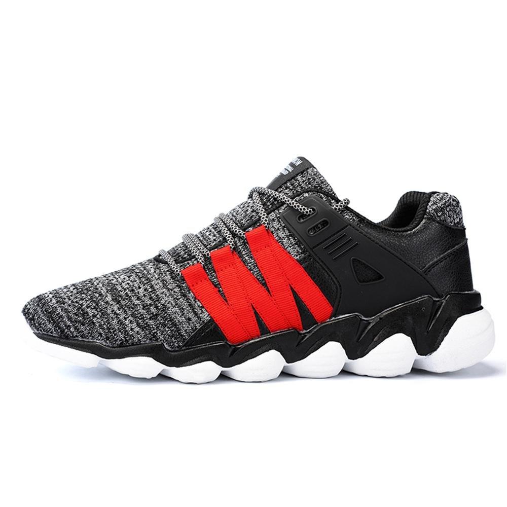 Zapatillas de deporte de moda casual de verano para hombres Zapatillas de deporte atléticas respirables , a , 41 41|a