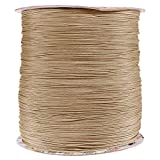 PARACORD PLANET 1.8 MM Dyneema Speed Lace - 10 Feet - Beige Color - Unbreakable and Lightweight Fiber