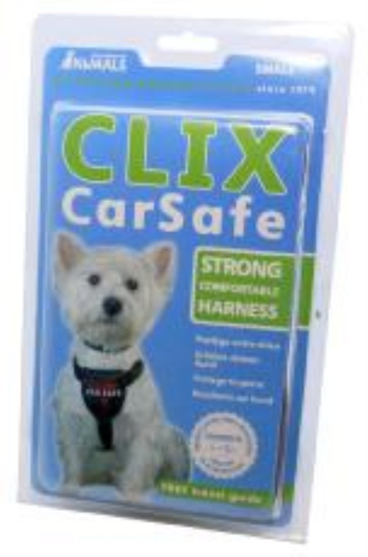 Company Of Animals CLIX Dog Car Harness SM, 21 to 25-1 2-Inch Girth