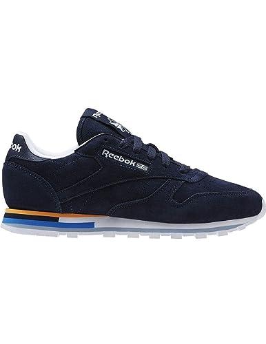 Reebok Damen Schuhe / Sneaker Classic Leather MH indigo 37.5