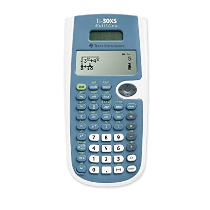 Amazon.com : TEXTI30XSMV - Texas Instruments TI-30XS MultiView ...