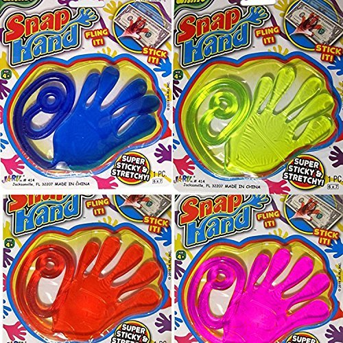 Giant Snap Hand 4 Pack (All different colors!) -